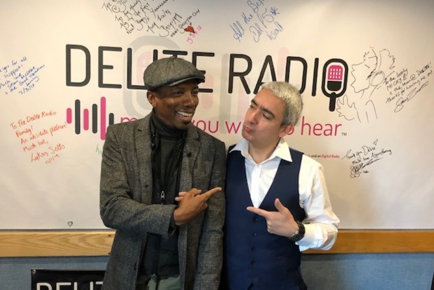 Music Producer Phil Phillo Joins Tony Jay on Delite Drive Time!