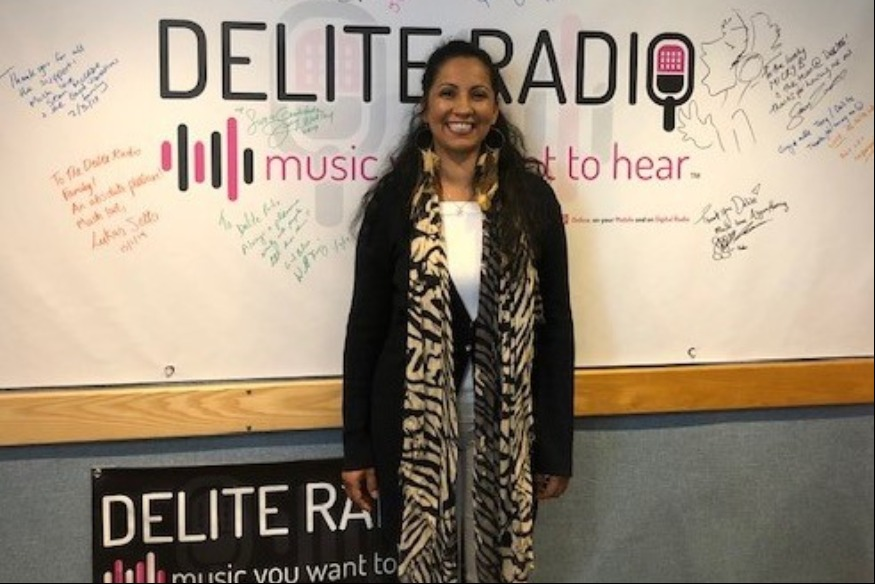 Welcomes Romina Johnson to Delite Radio